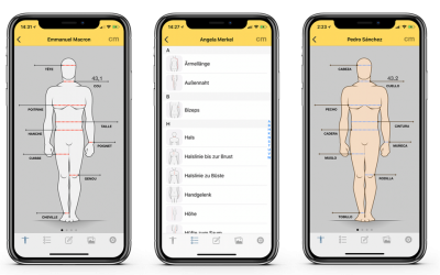 Dress Measurement Version 1.3.1